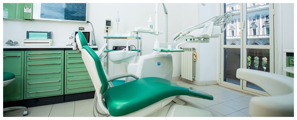 Studio medico dentistico verde