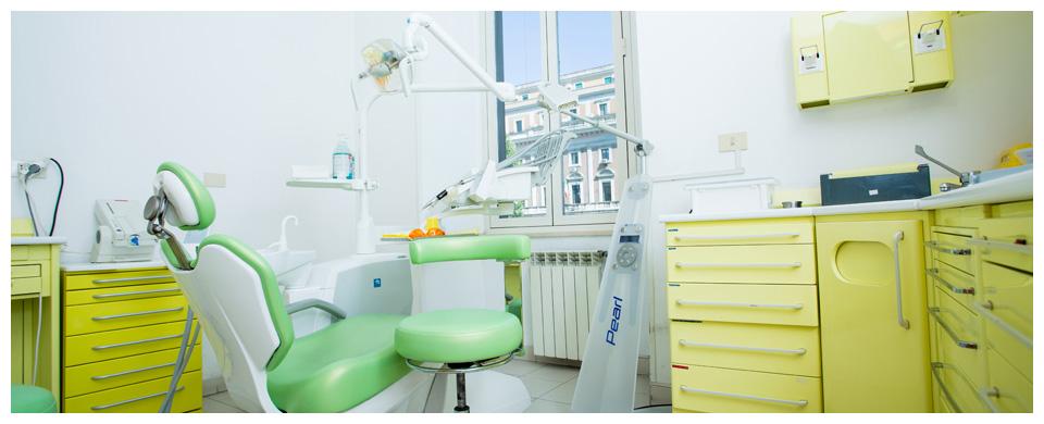 Studio medico dentistico gialla